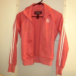 Abercrombie pink zip up jacket